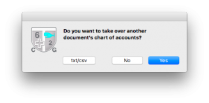 Importing an existing document